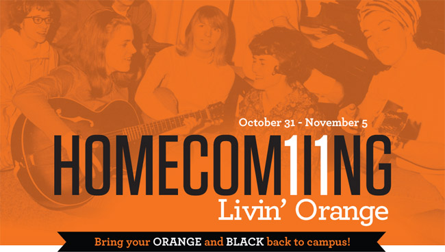 Homecoming 2011: Livin' Orange